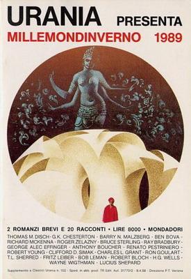 Millemondinverno 1989: 2 Romanzi brevi e 20 Racconti | Italy, Mondadori 1989 | Cover: Thole, Karel