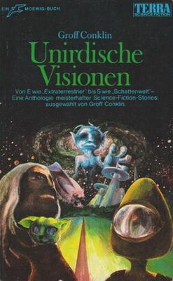 Unirdische Visionen | Germany, Moewig 1969 | Cover: Klostermann
