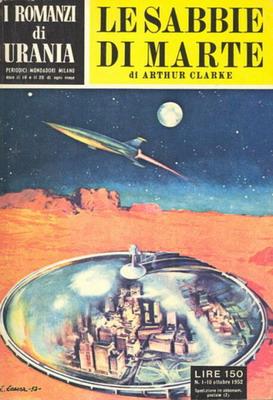 Le sabbie di Marte | Italy, Mondadori 1952 | Cover: Caesar, Curt