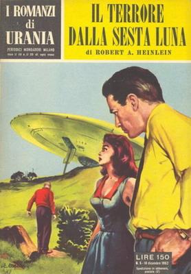 Il terrore dalla sesta luna | Italy, Mondadori 1952 | Cover: Caesar, Curt