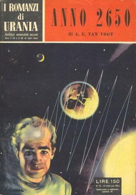 Anno 2650   Italy, Mondadori 1953   Cover: Caesar, Curt