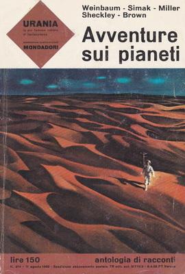 Avventure sui pianeti | Italy, Mondadori 1963 | Cover: Thole, Karel