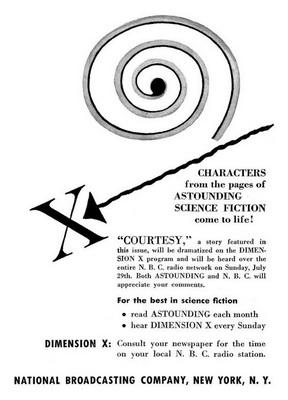Dimension X: Courtesy | USA, NBC 1951