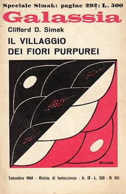 Il villaggio dei fiori purpurei | Italy, La Tribuna 1969 | Cover: Allison