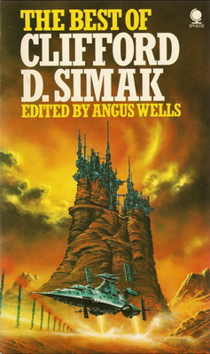 The Best of Clifford D. Simak | UK, Sphere 1975 | Cover: Jones, Eddie