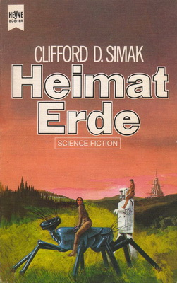 Heimat Erde | Germany, Heyne 1976 | Cover: Thole, C.A.M.