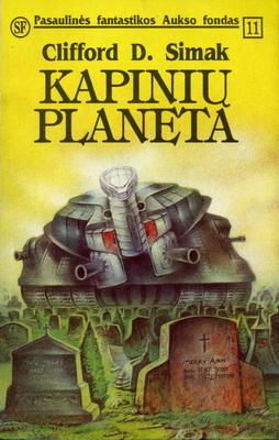 Kapinių planeta | Lithuania, Eridanas 1993 | Cover: Šimakauskas, A.