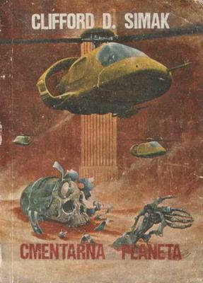Cmentarna planeta | Poland, Klubowe 1987 | Cover: Burns, Jim