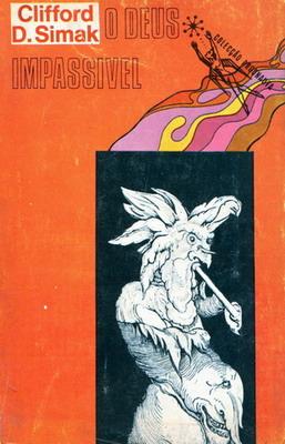 O Deus Impassível | Portugal, Livros do Brasil 1972 | Cover: Freitas, Lima de