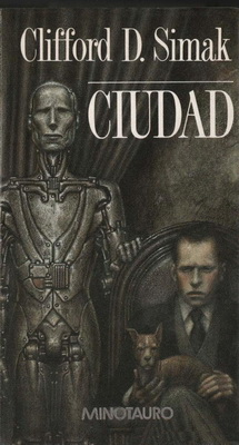 Ciudad | Spain, Minotauro 1988 | Cover: Chichoni, Óscar H.
