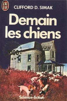 Demain les chiens | France, J`ai Lu 1986 | Cover: Csernus, Tibor
