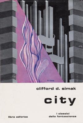 City | Italy, Libra Editrice 1980 | Cover: Allison