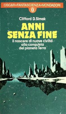 Anni senza fine | Italy, Mondadori 1976 | Cover: Thole, Karel