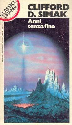 Anni senza fine | Italy, Mondadori 1992 | Cover: Hardy, David