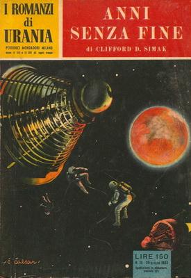 Anni senza fine | Italy, Mondadori 1953 | Cover: Caesar, Curt