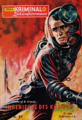 Ingenieure des Kosmos | Deutschland, Pabel 1957 | Titelbild: Emshwiller, Edmund A.
