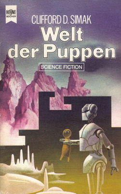 Welt der Puppen | Germany, Heyne 1974 | Cover: Thole, C.A.M.