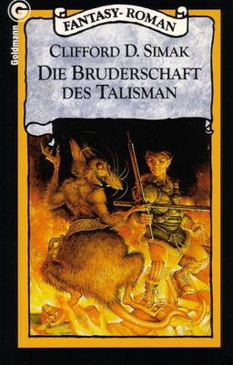 Die Bruderschaft des Talisman | Germany, Goldmann 1987 | Cover: Maitz, Don