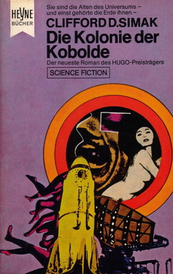 Die Kolonie der Kobolde   Germany, Heyne 1969   Cover: Atelier Heinrichs und Bachmann