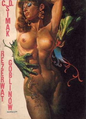 Rezerwat goblinów | Poland, Klubowe 1987 | Cover: Vallejo, Boris