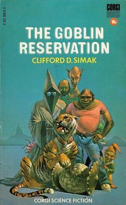 The Goblin Reservation | UK, Corgi 1971 | Cover: Pennington, Bruce
