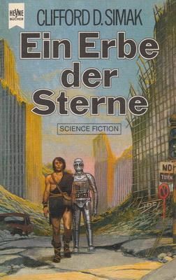 Ein Erbe der Sterne | Germany, Heyne 1980 | Cover: Segrelles / Norma