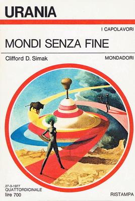 Mondi senza fine | Italy, Mondadori 1977 | Cover: Thole, Karel
