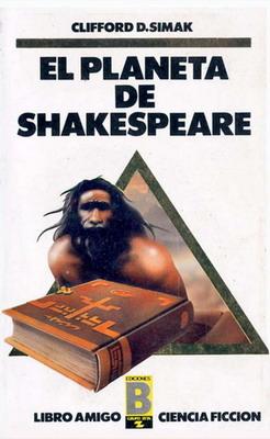 El planeta de Shakespeare   Spain, Ediciones B 1987   Cover: Taché, Jordi