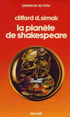 La Planète de Shakespeare | Frankreich, Denoël 1986 | Titelbild: Dumont, Stéphane