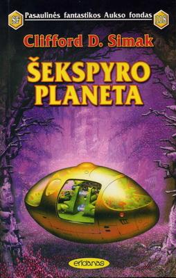 Šekspyro planeta | Lithuania, Eridanas 1998 | Cover: White, Tim