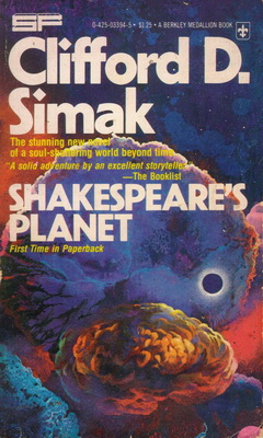 Shakespeare`s Planet   USA, Berkley Medallion 1977   Titelbild: Lehr, Paul