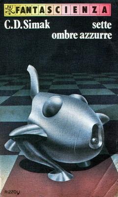 Sette ombre azzurre | Italy, Rizzoli 1979 | Cover: Mulazzani, Giovanni