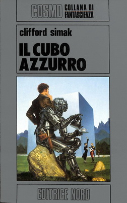 Il cubo azzurro   Italy, Editrice Nord 1984   Cover: Whelan, Michael