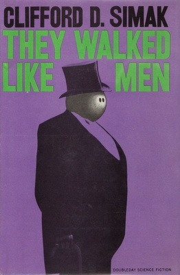 They Walked Like Men | USA, Doubleday / SFBC 1963 | Cover: Ratzkin, Lawrence