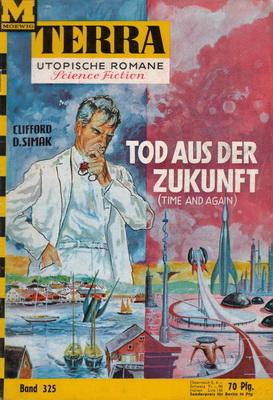 Tod aus der Zukunft | Germany, Moewig 1964 | Cover: Bruck, Johnny
