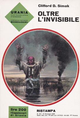 Oltre l`invisibile | Italy, Mondadori 1965 | Cover: Thole, Karel