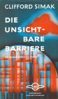 Die unsichtbare Barriere | Germany, Goldmann 1962 | Cover: Volkmer, Eyke