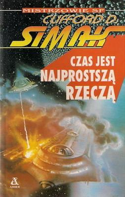 Czas jest najprostszą rzeczą | Poland, Amber 1993 | Cover: Gutierrez, Alan