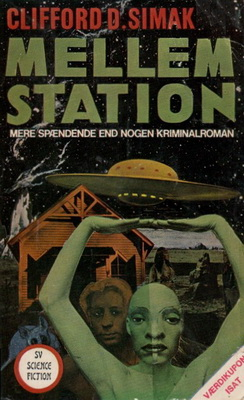 Mellemstation   Denmark, Stig Vendelkærs Forlag 1972   Cover: Kragh, Ole J.