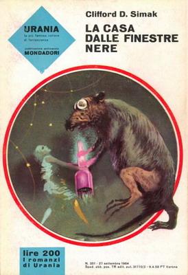 La casa dalle finestre nere | Italy, Mondadori 1964 | Cover: Thole, Karel