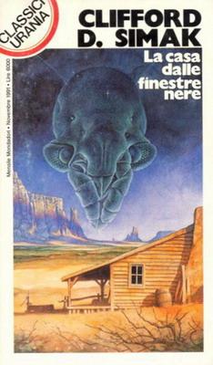 La casa dalle finestre nere | Italy, Mondadori 1991 | Cover: Chichoni, Óscar H.