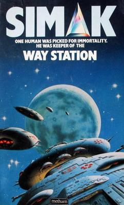 Way Station | UK, Methuen 1984 | Cover: Moore, Chris