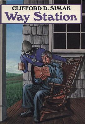 Way Station | USA, Doubleday / SFBC 1985 | Cover: Baumann, Jill