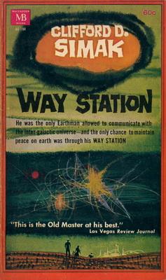 Way Station | USA, Macfadden 1964 | Cover: Powers, Richard