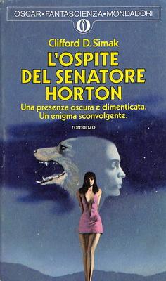 L`ospite del senatore Horton | Italy, Mondadori 1974 | Cover: Thole, Karel