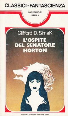 L`ospite del senatore Horton | Italy, Mondadori 1981 | Cover: Thole, Karel