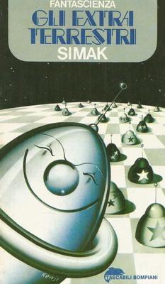 Gli extraterrestri | Italy, Bompiani 1978 | Cover: Sumura, Kenji