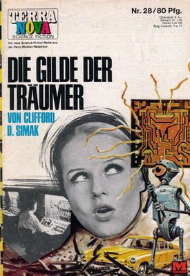 Die Gilde der Träumer | Germany, Moewig 1968 | Cover: Stephan, Karl