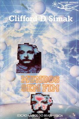 Mundos sem Fim | Portugal, Livros do Brasil 1988 | Cover: Pedro, A.