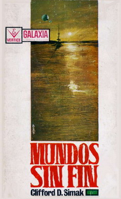 Mundos sin fin | Spain, Vértice 1967 | Cover: Enrich